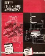 RTA - REVUE TECHNIQUE AUTOMOBILE- RENAULT 16- COFFRET ANTI BROUILLARD CIBIE - N� 237 -  1966
