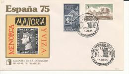 Brief/Carta Spanien/España - Exposicion Mundial De Filatelia/Baleares - Madrid - 1975 - Siehe Scan *) - Spanien