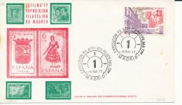 Brief/Carta Spanien/España - Exposition Filatelicia - Madrid - 1977 - Siehe Scan *) - Spanien