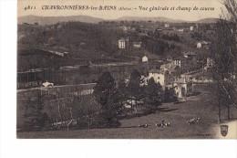 1 LOT DE 2 CPA CHARBONNIERES LES BAINS - Charbonniere Les Bains