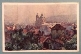 PRAGA - CARTOLINA PER MILANO DEL 1919 CON CENSURA - ZURUK - Repubblica Ceca