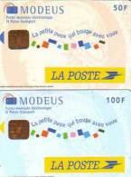 FRANCE PAIRE MONEO MODEUS LA POSTE TEST 50F + 100F SUPERBE - Frankrijk