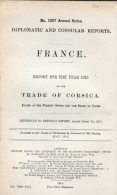 1913 HMSO UK Government Foreign Office Diplomatic Consular Report France Trade Corsica - Historical Documents