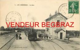 LES SORINIERES      LA GARE   TRAIN   RARE - Francia