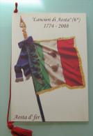""" 6 LANCIERI DI AOSTA ""  1774 / 2008 - Calendari"