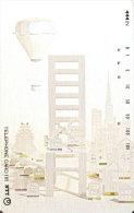 TARJETA DE JAPON DE UN PUENTE DE 105 UNITS (290-240-1989) BRIDGE -GLOBO-BALLOON - Japón