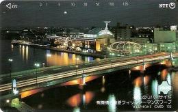 TARJETA DE JAPON DE UN PUENTE DE 105 UNITS (430-253-1990) BRIDGE - Japón