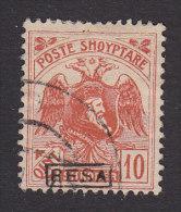 Albania, Scott #157, Used, Skanderbeg And Double Headed Eagle Overprinted, Issued 1922 - Albania