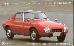 TARJETA DE JAPON DE UN COCHE DE 105 UNITS (290-304-1989) CAR - Japón