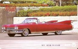 TARJETA DE JAPON DE UN COCHE CADILLAC DE 105 UNITS (250-327-1989) CAR - Japón