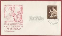 Vaticano 1965 - FDC Capitolium Cocilio Ecumenico Vaticano II - FDC