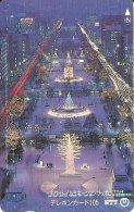 TARJETA DE JAPON DE NAVIDAD DE 105 UNITS (430-137-1989) CHRISTMAS - Japón