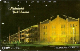 TARJETA DE JAPON DE MIDNIGHT YOKOHAMA DE 105 UNITS (250-304-1989) - Japón