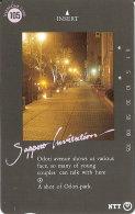 TARJETA DE JAPON DE SAPPORO INVITATION DE 105 UNITS (430-207-1989) - Japón