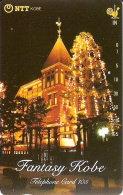 TARJETA DE JAPON DE NAVIDAD EN KOBE DE 105 UNITS (330-247-1989) CHRISTMAS - Japón