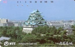 TARJETA DE JAPON DE UN PALACIO DE 105 UNITS (290-188-1988) - Japón