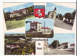 Cpm Cpsm   Francheville Le Haut - Frankreich