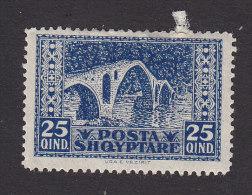 Albania, Scott #150, Mint Hinged, Bridge At Vezirit, Issued 1923 - Albania