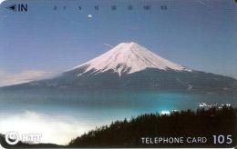 TARJETA DE JAPON DEL MONTE FUJI DE 105 UNITS (250-287-1989) MOUNTAIN-MONTAÑA - Japón