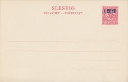 Schleswig Ganzsache Minr. P5 Postfrisch - Deutschland