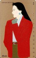 TARJETA DE JAPON DE UNA MUJER JAPONESA DE 320 UNITS (290-358-1989) MUJER-WOMAN - Japón