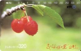 TARJETA DE JAPON DE UNAS CEREZAS DE 320 UNITS (410-237-1989) CEREZA - Japón