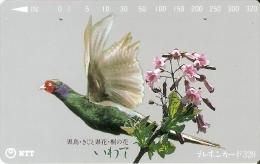 TARJETA DE JAPON DE UN FAISAN DE 320 UNITS (410-298-1990) BIRD-PAJARO - Japón