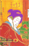 TARJETA DE JAPON DE UNA GEISHA DE 540 UNITS (290-429-1990) MUJER-WOMAN - Japón