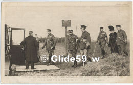 The European War - The King Reviews The Canadians On Salisbury Plain - The King, Queen & Lord Kitchener Leaving - N° - Guerre 1914-18