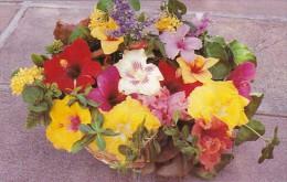 Antigua Basket Of Tropical Flowers - Antigua & Barbuda