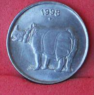 INDIA  25  PAISE  1998   KM# 54  -    (Nº11703) - India