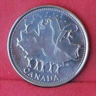 CANADA  25  CENTS  2002P   KM# 451a  -    (Nº11704) - Canada