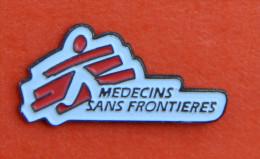 Pin´s - Médecins Sans Frontières - Verenigingen