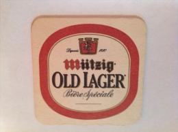 Sous Bock Bière Mutzig Old Lager - Sous-bocks