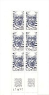Bloc De 6 Timbres Pierre Teilhard De Chardin - France