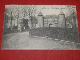 GROOT BIJGAARDEN -  GRAND BIGARD  - Entrée Du Château       -  (2 Scans) - Dilbeek