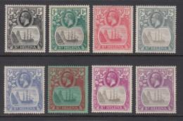 St Helena 1923 - Michel 64-71 Mint Hinged * - Isla Sta Helena