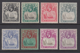 St Helena 1923 - Michel 64-71 Mint Hinged * - Sint-Helena
