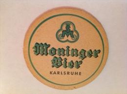 Sous Bock Bière Moninger Bier Karlsruhe - Beer Mats