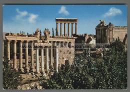 U3604 LEBANON BAALBECK RUINES DU MARCHE ROMAIN (tur)
