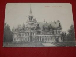BOUWEL  -  GROBBENDONK  -   Ch�teau du Goor    -  1911        -  (2 scans)