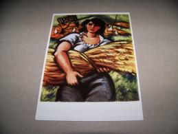 6068-49- -Ansichtskarte- Masereel - Garbenträgerin - Ilustradores & Fotógrafos