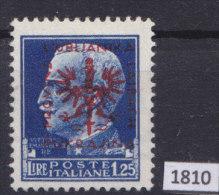 LAIBACH 1944, WW II German Occupation; Mi: 11; MH; Italian Overprints Provinz  Laibach, Ljubljanska Pokrajina - Occupazione 1938 – 45