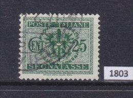 LAIBACH 1944, WW II German Occupation; Mi: 4 Porto; USED; Italian Overprints Provinz  Laibach, Ljubljanska Pokrajina - Occupazione 1938 – 45
