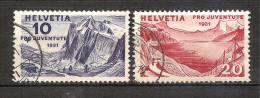 Switzerland 1931 - Wetterhorn And Lake Geneva - Switzerland