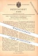 Original Patent - John F. Mallinckrodt In Washington , 1886 , Bremsen Für Straßenbahnwagen , Straßenbahn , Eisenbahn !!! - Historische Dokumente