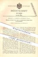 Original Patent - Charles De Rossetti In Roubaix , Frankreich , 1901 , Zwirn- Und Spinnmaschinen , Spinnerei , Spinnen ! - Historische Dokumente