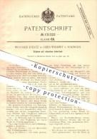 Original Patent - Winfried Evertz In Oben-Widdert B. Solingen , 1901 , Schere , Scheren , Schneiden , Schneidwerkzeug !! - Historische Dokumente