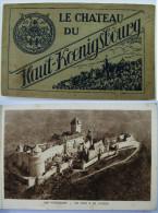 67 - Carnet - Le Château Du Haut-Koenigsbourg - 18 Cartes Sur 20 - Non Classés