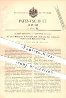 Original Patent - Albert Reymann In Tarnopol / Ternopil , Galizien , 1901 , Zielkontrollvorrichtung , Brille , Optiker ! - Historical Documents